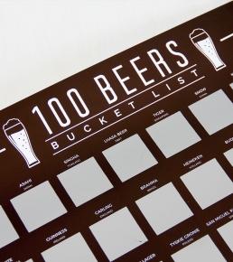 100 Beers Scratch Off Bucket List 1