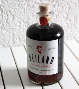 Heiland Doppelbockbier-Likör flasche