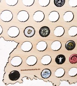 Kronkorkenkarte 1