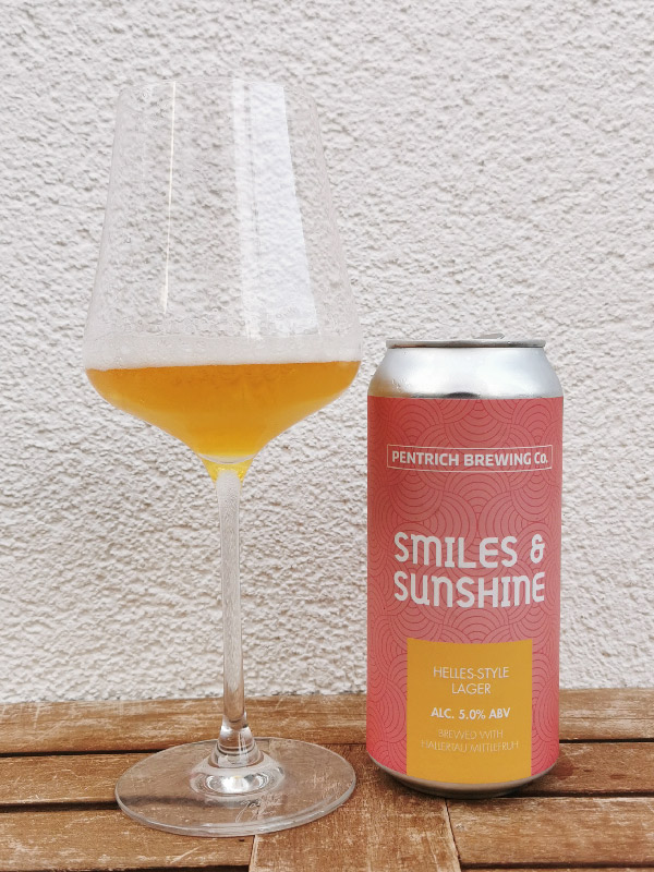 Pentrich Brewing Co. - Smiles & Sunshine - Helles Lager Style