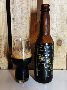 x The Bruery - I've got friends in the music business - Imperial Mexican Stout
