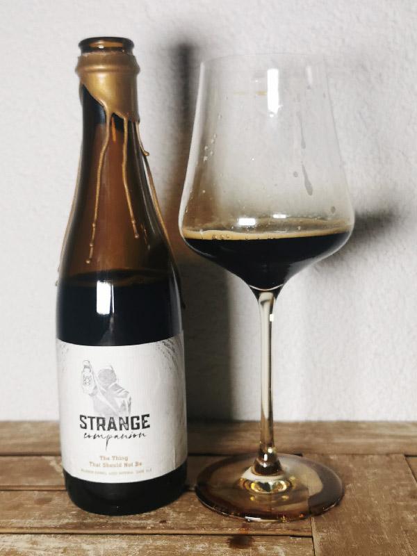 Strange Companion - The thing that should not be - Bourbon BA Stout