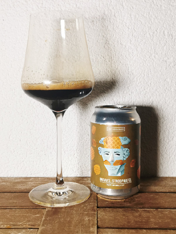 Hop Hooligans - Unravel: Stroopwafel - Imperial Double Pastry Stout