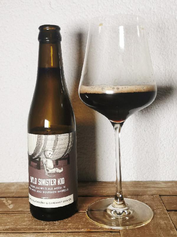 Trillium Brewing - Wild Sinister Kid - Wild Ale aged in Grape vine and Bourbon Barrels