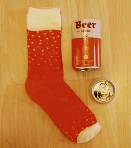 Luckies beer Socks 2