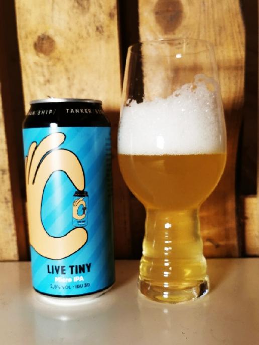 Brewery Tanker Live Tiny - Micro IPA