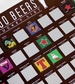 100 Beers Scratch Off Bucket List 3