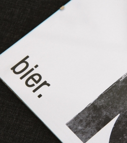 Bier Typo Poster 3