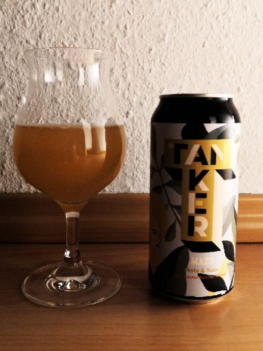 Brewery Tanker Mazu - Mate & Yuzu Zero Alcohol Berliner Weiße