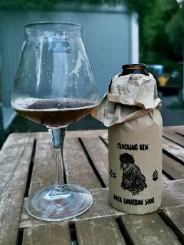 Clucking Hen Bourbon Sour