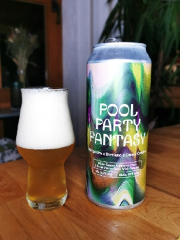 Pool Party Fantasy - White Guava + Passion Fruits and Lime Pastry Sour with Coconut