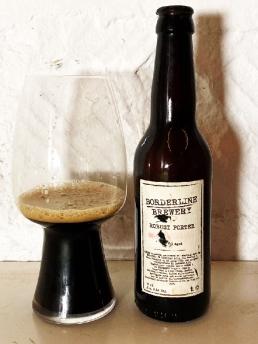 Borderline Brewery Robust Porter 2008 Coal Ila Whisky BA