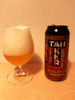 Brewery Tanker Sauna Session - Estonian Birch Ale