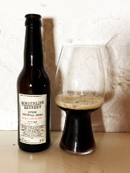 Borderline Brewery Borderline Brewery Sweet Imperial Stout 1998 Island Whisky BA