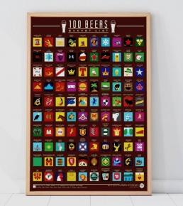 100 Beers Scratch Off Bucket List 5