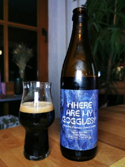 Where are my goggles? - Imperial Stout with Arabic Spices