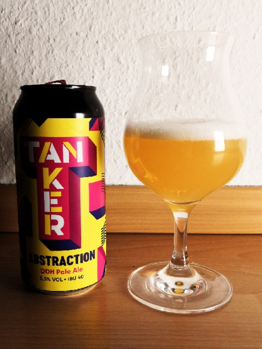 Brewery Tanker Abstraction - DDH Pale Ale