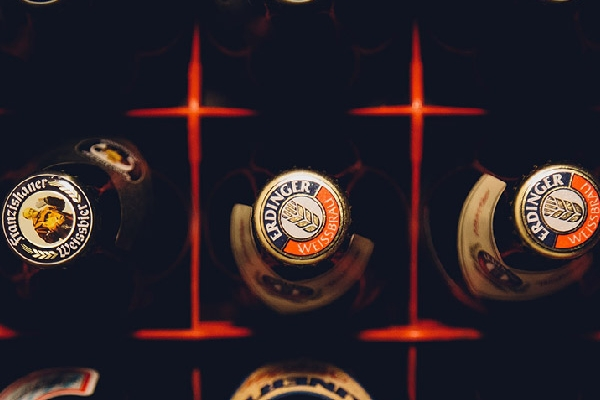 Individuelle Bierflaschen