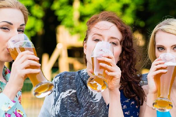 Leckeres Bier für Frauen