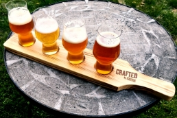 Rastal beer flight set