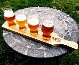 Rastal beer flight set