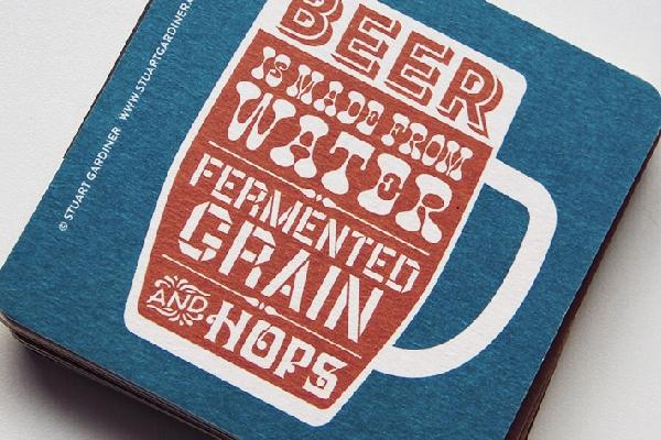 Stuart Gardiner Beer Mat Set