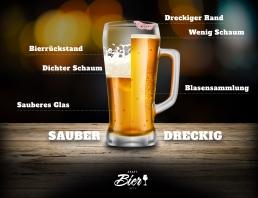 Sauber vs. Dreckig poster