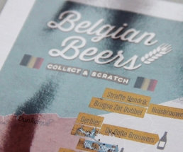 Scratch Off Beer Map