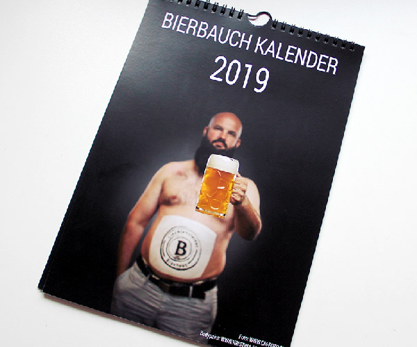 Bierbauch Kalender 2019