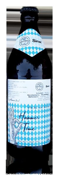 Hoppebräu x Bierol - Hammer Time flasche