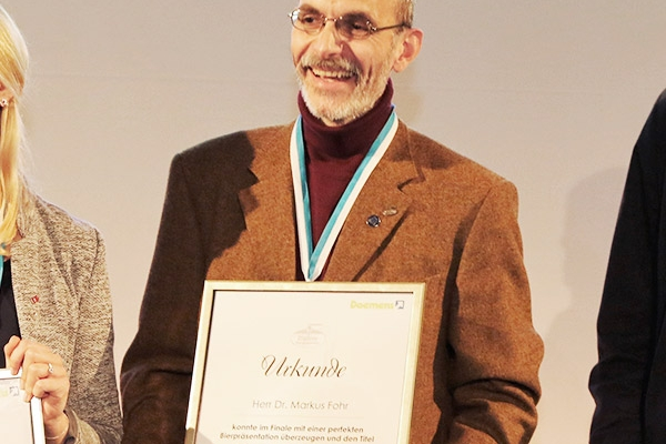 Bierpersönlichkeiten Dr. Markus Fohr