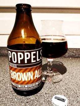Poppels Bryggeri brown ale