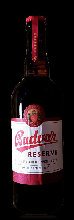 Budweiser Budvar Grand Reserve flasche