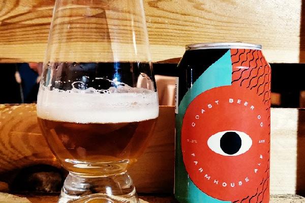 Coast Beer Co. Farmhouse Ale