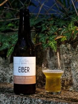 Eiber Bier achter de duinen