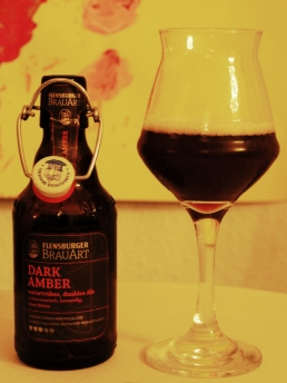 Flensburger BrauArt dark amber