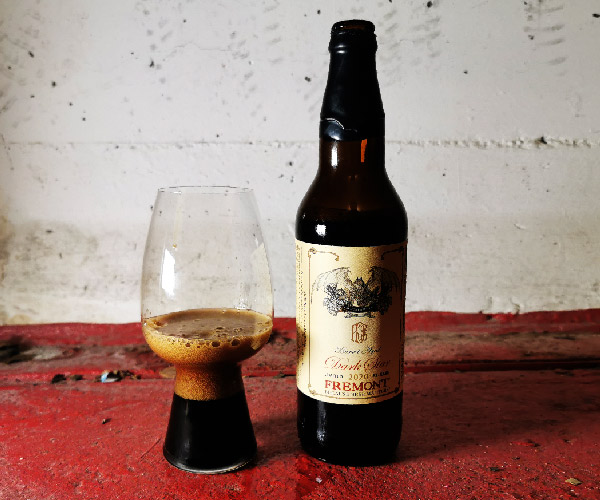 Fremont B-Bomb 2020 Limited Barrel Aged Dark Star Bourbon Winter Ale