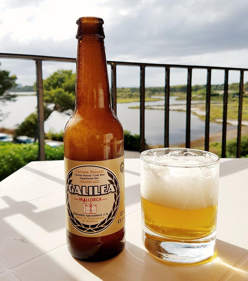 Cas Cerveser Galilea Mallorca golden ale