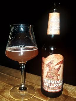 Heimdalls Willkomm - Trunk aus Bier und Met