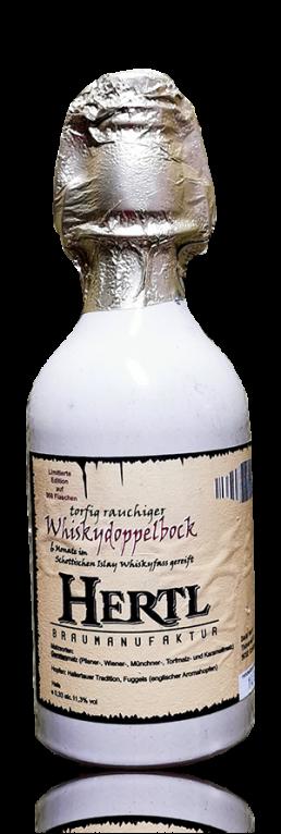 Hertl Whisky Doppelbock flasche