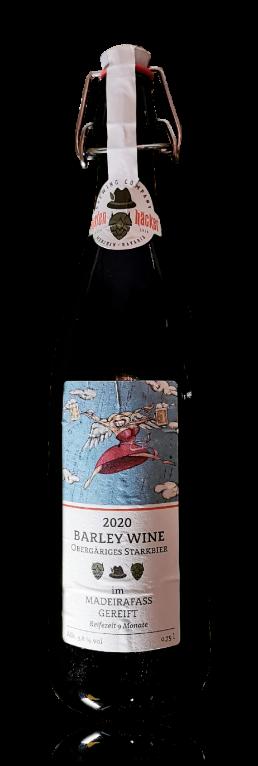 Hopfenhäcker Barley Wine 2020 flasche