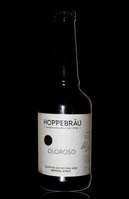 Hoppebräu Oloroso flasche