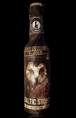 Inselbrauerei Baltic Stout flasche
