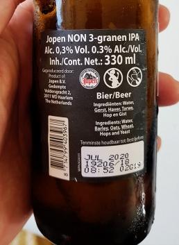 Jopen Non IPA Etikett