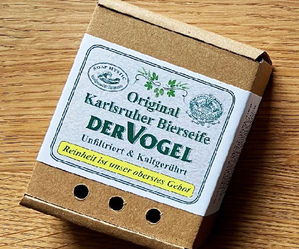 Original Karlsruher Vogel Bierseife
