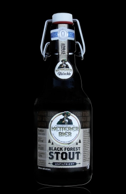 Ketterer Black Forest Stout flasche