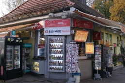 Kiosk an der Reichenbachbrücke