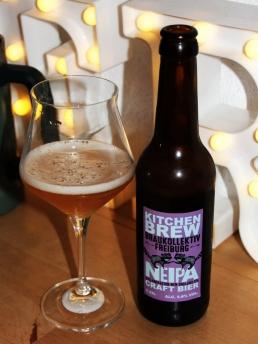 Braukollektiv Freiburg mit Kitchen Brew Neipa