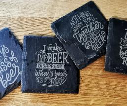 Kreativschliff Bier Untersetzer