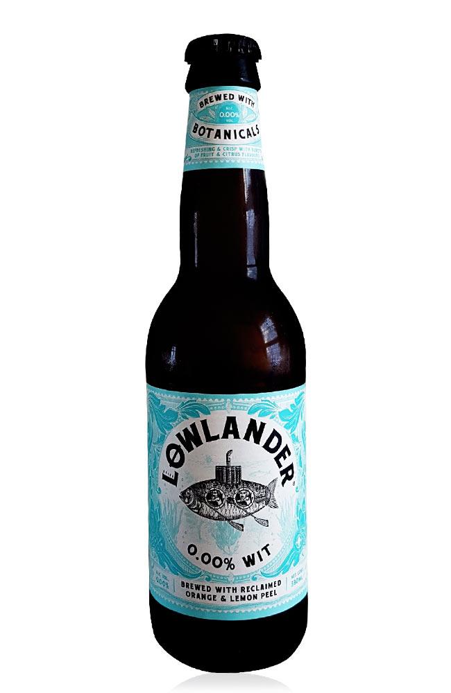 Lowlander 0,0 Wit flasche